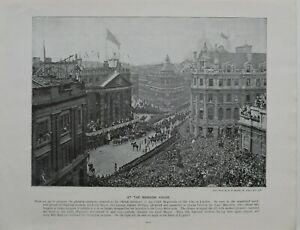 1897 Queen Victoria Diamant Jubiläum Bei The Mansion Sir George Faudel Phillips