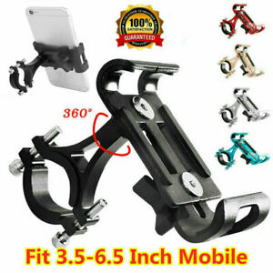 Universal-Bicycle-Motorcycle-Bike-Handlebar-Aluminum-Mount-Holder-For-Cell-Phone