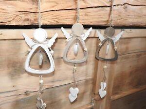 Madera Ángel Advent navidad colgadores decoración türkranz personaje árbol joyas corazón  </span>