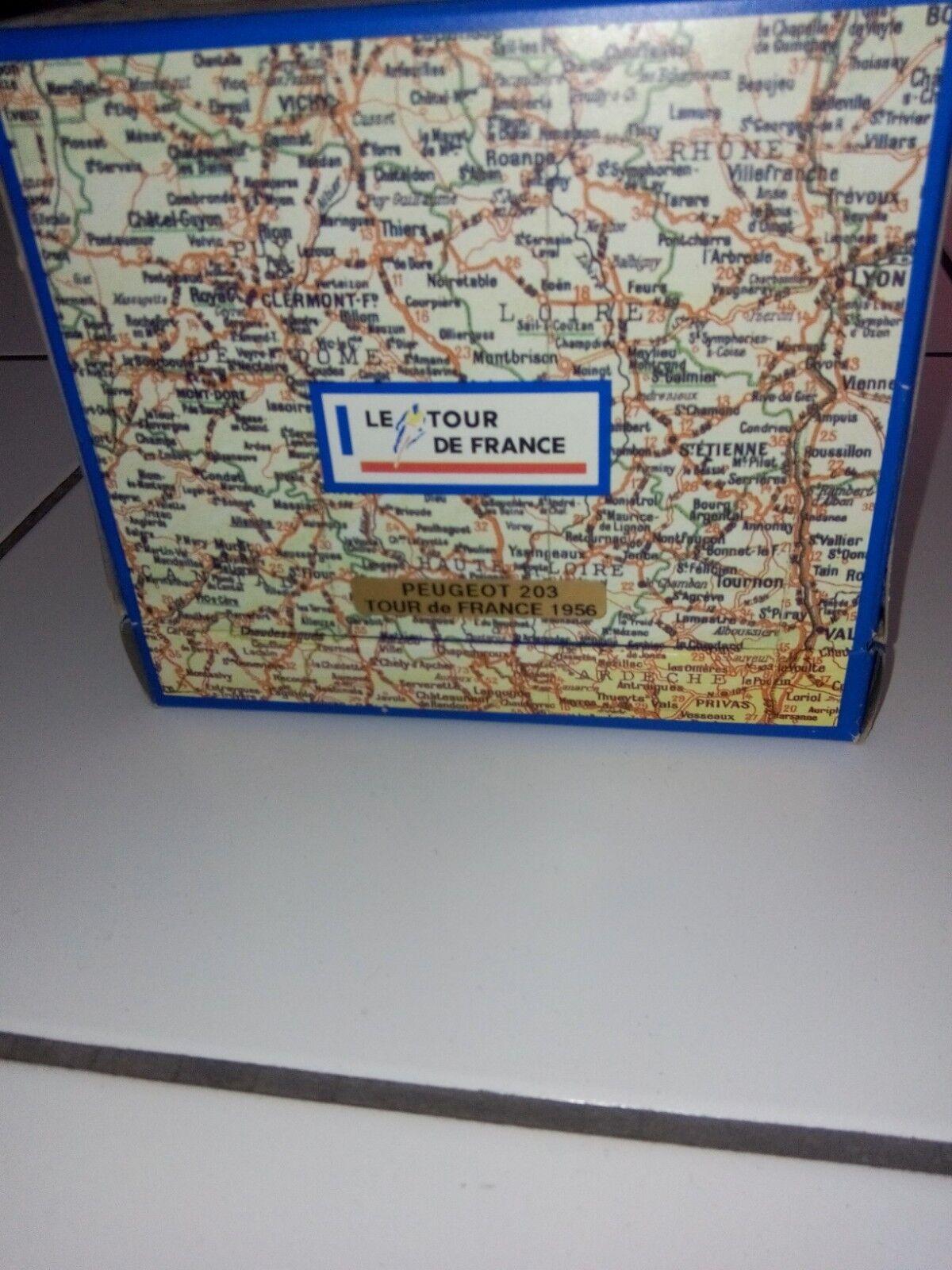 Norev peugeot peugeot peugeot 203 tour de france série émotion coffret carton made in france 1d1846