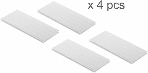 4x Essuie-Foulards pour Karcher Batterie essuie-glace KV 4 Lavette Mikrofaser référence Lavable