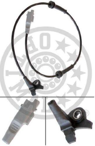 0 265 007 423-0265007423 Capteur ABS Avant 454588-4545.88-9644966780