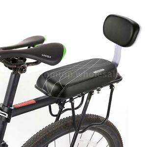 Details About Bicycle Rear Seat Cushion Armrest Footrest Set Bike Back Seat