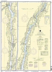 NOAA Chart Hudson River Wappinger Creek to Hudson 31st Edition 12347