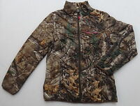 Realtree Women's Ladies Down Jacket Lightweight Packable Camo &hot Pink S,m,l,xl