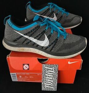purchase cheap 17ffe ac0d3 Image is loading VINTAGE-ORIGINAL-NIKE-LUNAR-FLYKNIT-ONE-AIR-MAX-