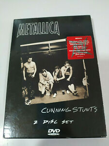 METALLICA-CUNNING-STUNTS-2-x-DVD-REGION-0-Cubierta-carton-2005-AM
