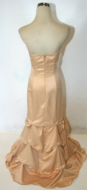 NWT ZUM ZUM  200 gold Evening Formal Party Prom Prom Prom Gown 7 94f202