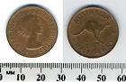 Australia 1963 (p) - Half Penny Coin - Queen Elizabeth II - Kangaroo leaping