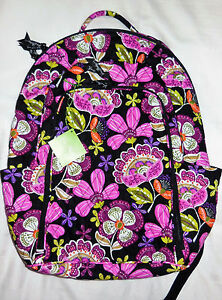 2e8695e742fc New with Tags  109 Vera Bradley LAPTOP BACKPACK in PIROUETTE PINK ...