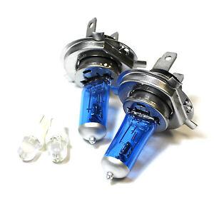 Fits Nissan X-Trail T30 55w Super White Xenon HID High//Low Beam Headlight Bulbs