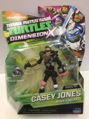 Teenage Mutant Ninja Turtles TMNT Space Vigilante Casey Jones Figure Playmates