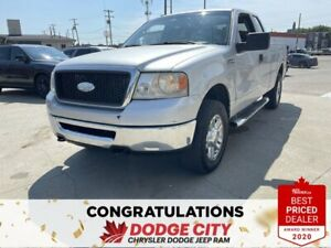 2008 Ford F 150 -4WD, V8, Accident Free, Extended Cab