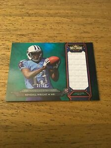 Kendall-Wright-Titans-2012-Topps-Triple-Threads-Emerald-JSY-Rookie-31-50