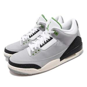 cf0c220fbbc Nike Air Jordan 3 Retro Chlorophyll Tinker Smoke Grey Black Green ...