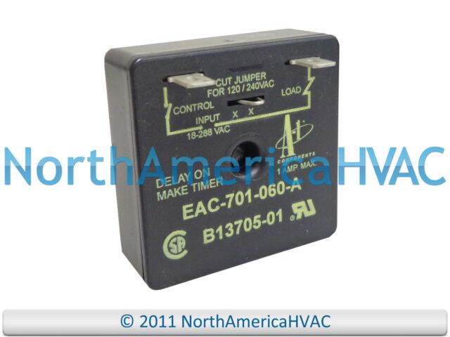 Janitrol Goodman A-1 Components 60s Timer Board B1370501 B13705-01 EAC-701-060-A
