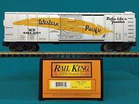 30-7461 Mth Railking O/o27 Western Pacific Box Car