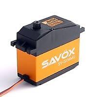 Sav-Sv0236Mg Savox Jumbo Digital Servo 40Kg 0.17S@7.4V