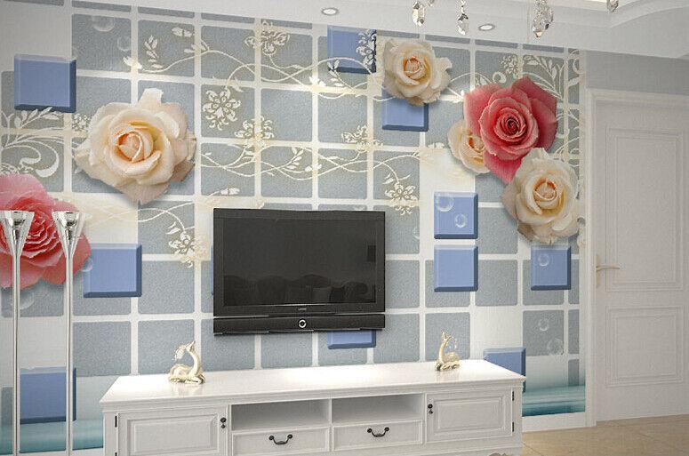 3D Rosan-Kunst-Muster 84 Tapete Wandgemälde Tapete Tapeten Bild Familie Familie Familie DE | Heißer Verkauf  |  c74766