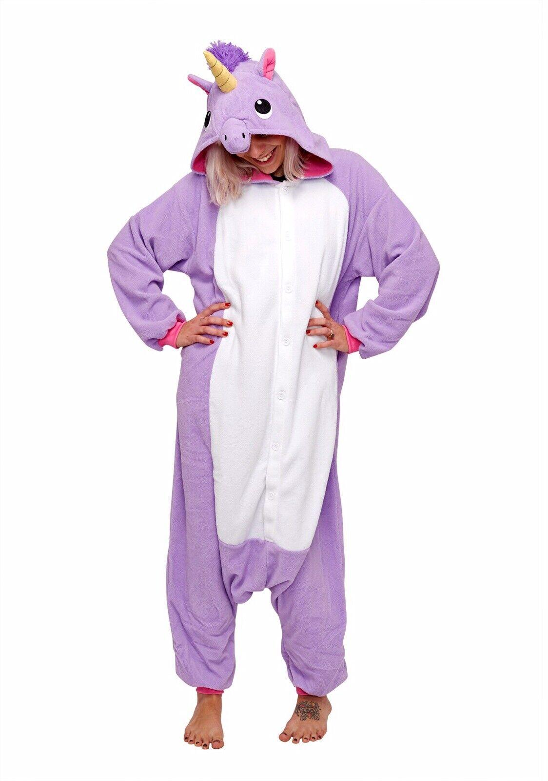 Purple Unicorn Adult Kigurumi