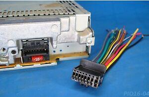 pioneer radio stereo harness deh p3000ib p4900ib p5100ub p5800mp p4800mp 15
