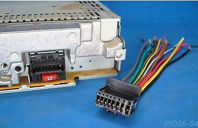 Pioneer Radio Plug Stereo Harness Deh P3000ib P4900ib P5100ub P5800mp P4800mp 15 Ebay