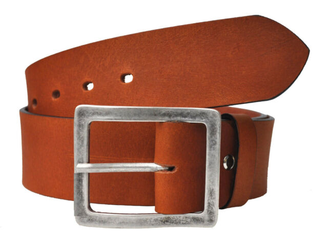 VOLL Leder Guertel 5cm Breit  Farbe &  Länge Wählbar 4mm bis 130cm Bundweite