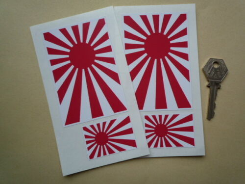 Japanese Navy style Flag 4in /& 2in style Car stickers