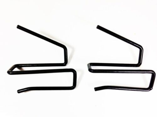 Gun Safety Storage Solutions Easy Use Pack of 2 Back-Over Handgun Hangers HBO