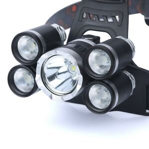 50000LM-Waterproof-Headlight-5X-T6-flashlight-rechargeable-headlamp-Torch-Lamp