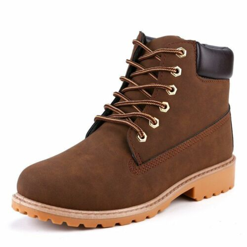 Women/'s Ankle Boots Fashionable Outdoor Snow Wear Shoes Work And Safety Footwear