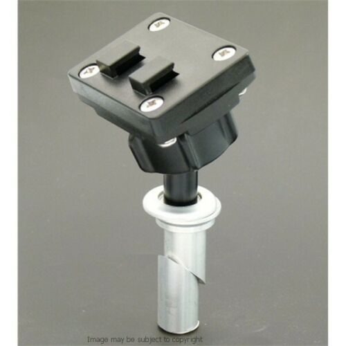 "Impermeable 5/"" Satnav GPS Motocicleta 19 mm Tenedor Stem Mount Yoke"