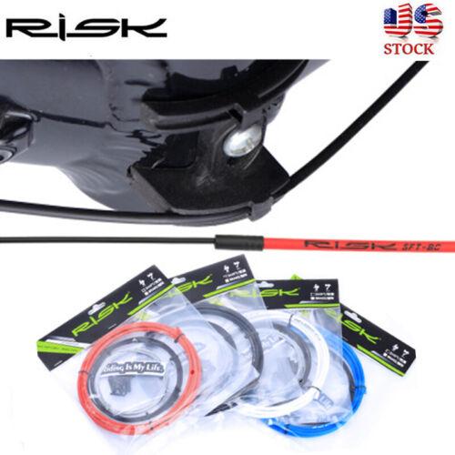 RISK MTB Road Bike Brake Cable Sets Bicycle Shift Line Brake Line Housing Kit US