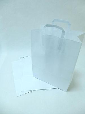 37x44+4+4cm 100-2000 DKT Tragetaschen Plastiktüten EXTRA SEHR STABIL 40my