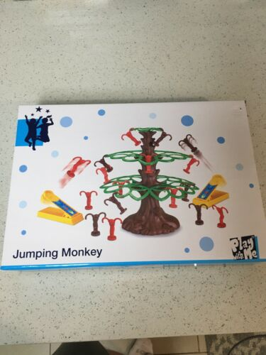 New In Box Jumping Monkey Game By Woolworth
