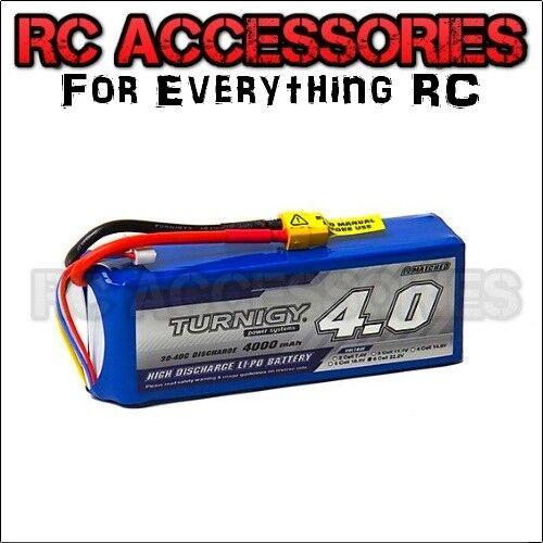 4000mAh LiPo POLIMERO Pacco batteria 22.2V 6 S CELLA 30C 40C RC Auto Barca XT60