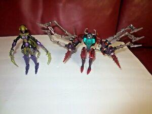 Hasbro Transformers Scavenger/ Black Arachnia Beast Machines Good used