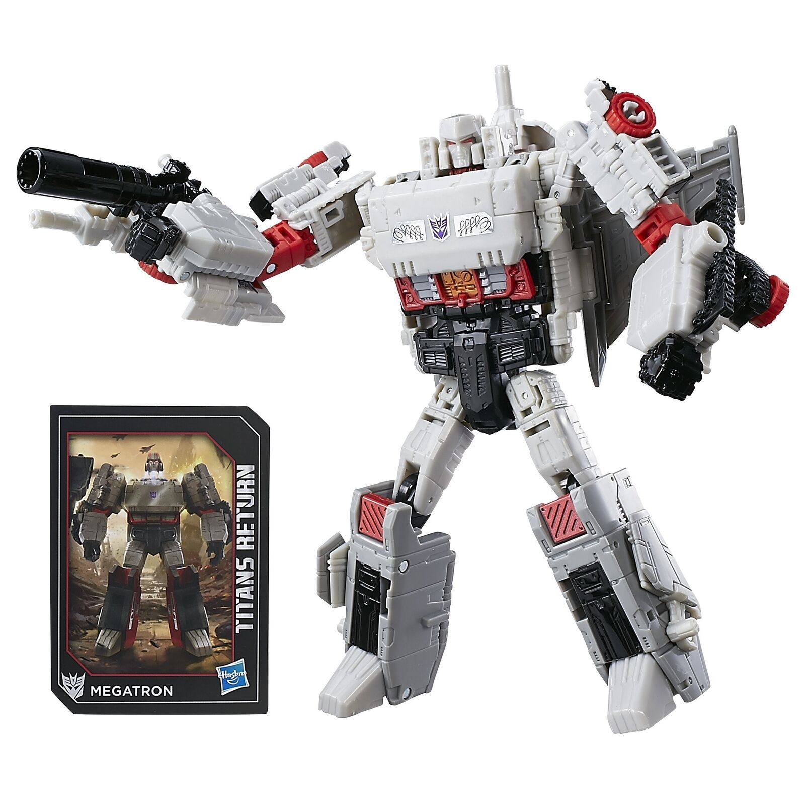 Transformers Generations Titans Return Doomshot & G1 Megatron Voyager Figure New