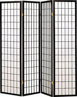 Coaster Home Furnishings 4-panel Room Screen Divider
