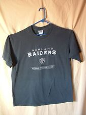 OAKLAND RAIDERS, EMBROIDERED SHIRT, L, LEE SPORT, ALL SEWN!