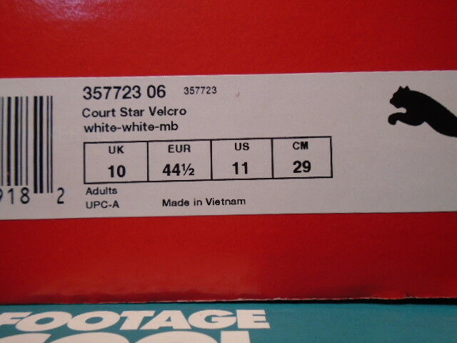 2015 PUMA COURT STAR STRAPS GV SPECIAL BIANCA MB ROYAL 11 BLU GOLD 357723-06 NEW 11 ROYAL 4c485f