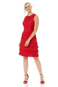 Roman-Originals-Womens-Lace-Flapper-Tassels-Dress-in-Black-Sizes-10-20