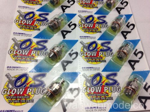 1Pcs NEW OS Engines A5 Glow Plug For 6I 91 160FX 140RX BX-1 O.S Free Shipping