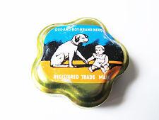 Grammophon NADELDOSE DOG AND BOY - MIT NADELN ! gramophone needle tin