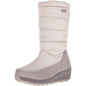 Kamik Detroit Women's Nylon Waterproof Snow Boots Cold Weather