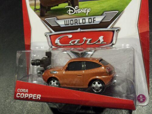 DISNEY PIXAR CARS CORA COPPER 2014 SAVE 6/% GMC