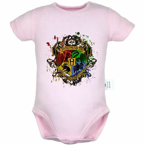 Harry Potter Hogwart Jumpsuit Baby Romper Bodysuit Infant Newborn Clothes Outfit
