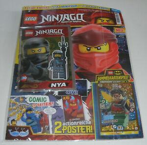 AgréAble Lego Ninjago-magazine Nº 51 Avec ña Et Limitatifs Carte-afficher Le Titre D'origine