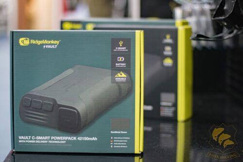 RidgeMonkey NEW C-smart Vault All Sizes Black Or Green