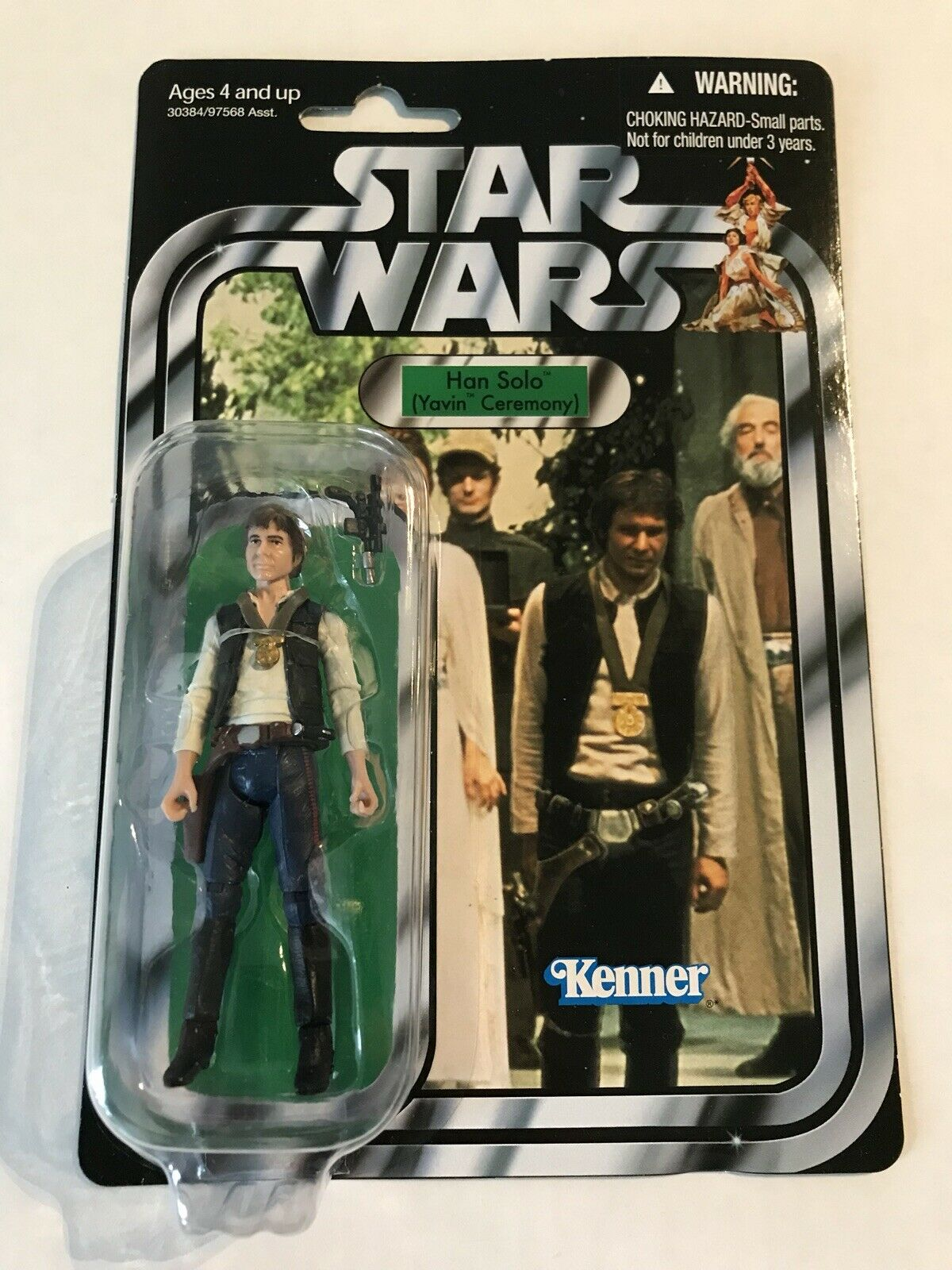 Hasbro Star Wars The Vintage Collection VC42 3.75 - HAN SOLO -NewSealedUnPunched
